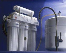 Установка фильтра очистки воды в Калтане
