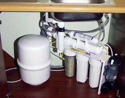 Установка фильтра очистки воды в Калтане, подключение фильтра для воды в г.Калтан